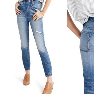 Madewell Denim Rigid High-rise Skinny Jeans